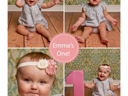 This little doll is turning one!