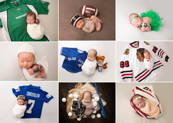 Bring me your baby sports fans!