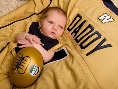 We have a Winnipeg Blue Bombers fan!