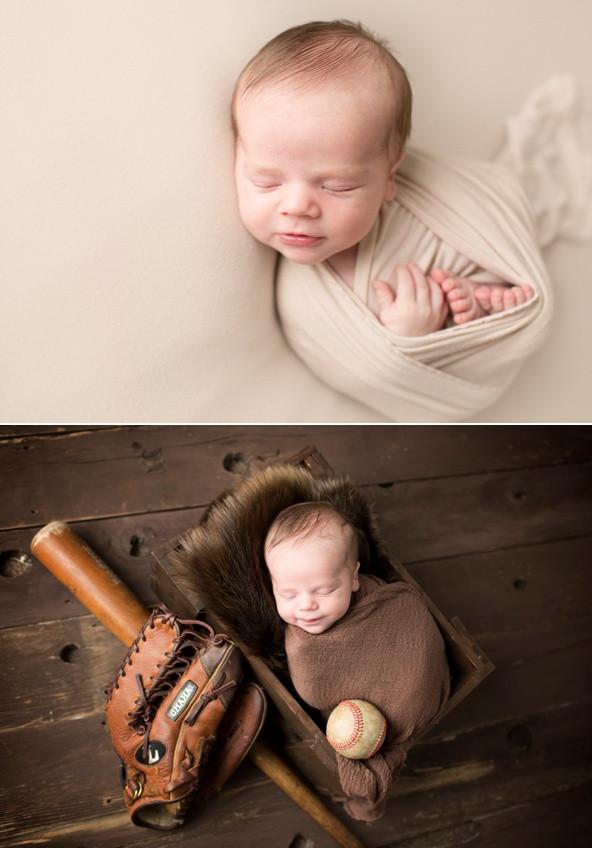 Baseball baby newborn regina