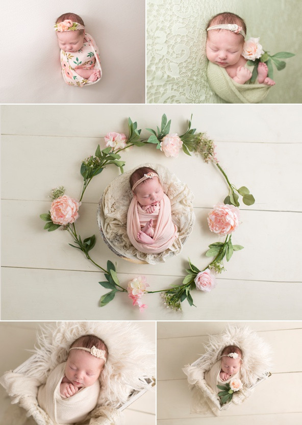 Floral Baby Newborn Girl