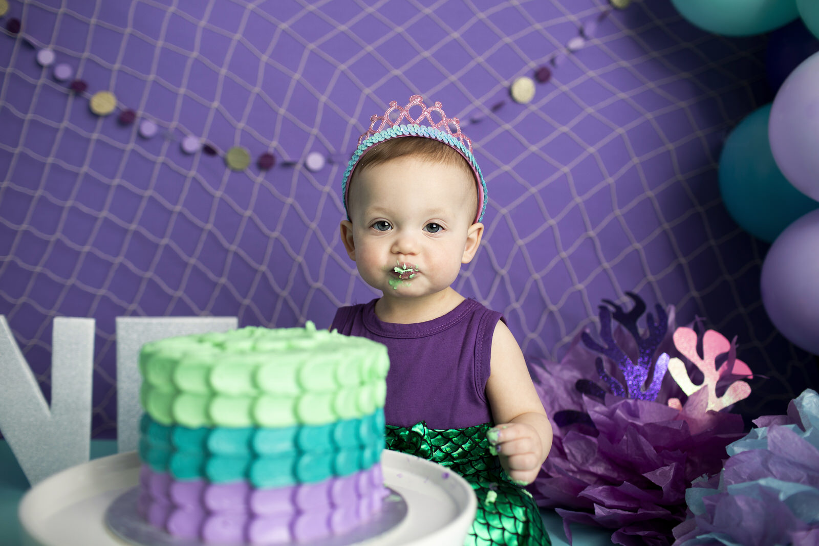 Mermaid Cake Smash Regina