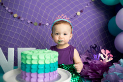 Mermaid Cake Smash Regina