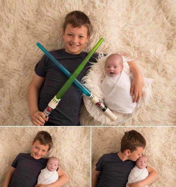 Sibling Family Photo - Star Wars