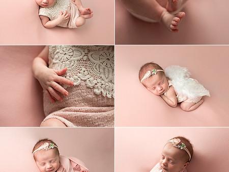 Pretty in pink Newborn Photos