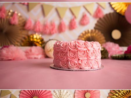 Cake Smash Set Up! Cake by The Cakery