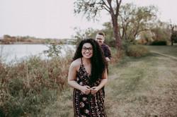 cute engagement photos regina