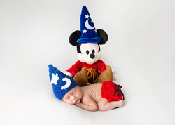 Disney Newborn Photography Mickey