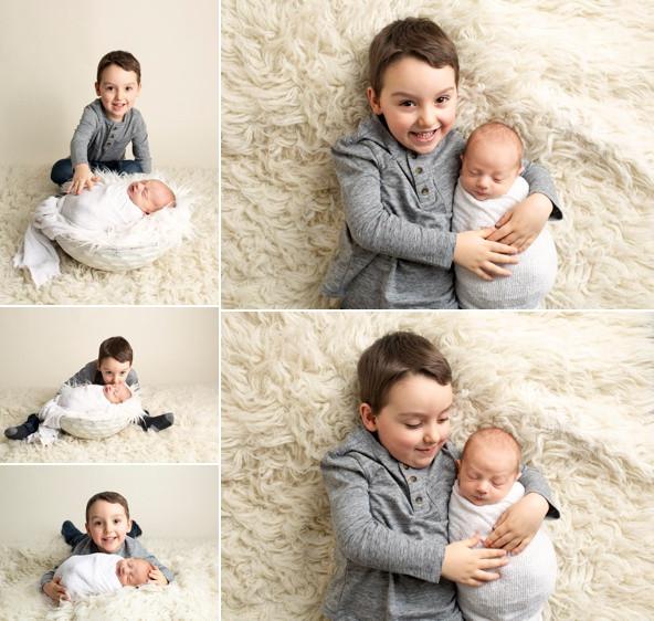 Sibling Newborn Regina Sask photography