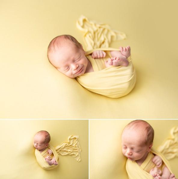 newborn baby boy Regina Photography