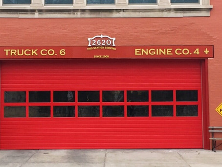 Louisville Metro - Firehouse Sign