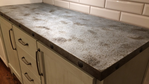 Custom Counter Tops - Zinc, Stainless, Copper