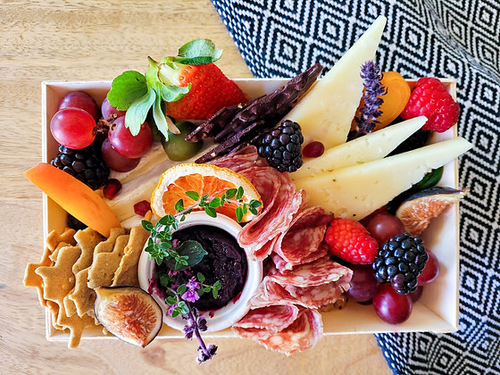 The Plated Cheese Board