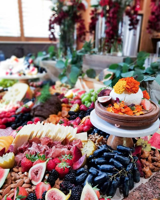 Bridal Shower Grazing Table