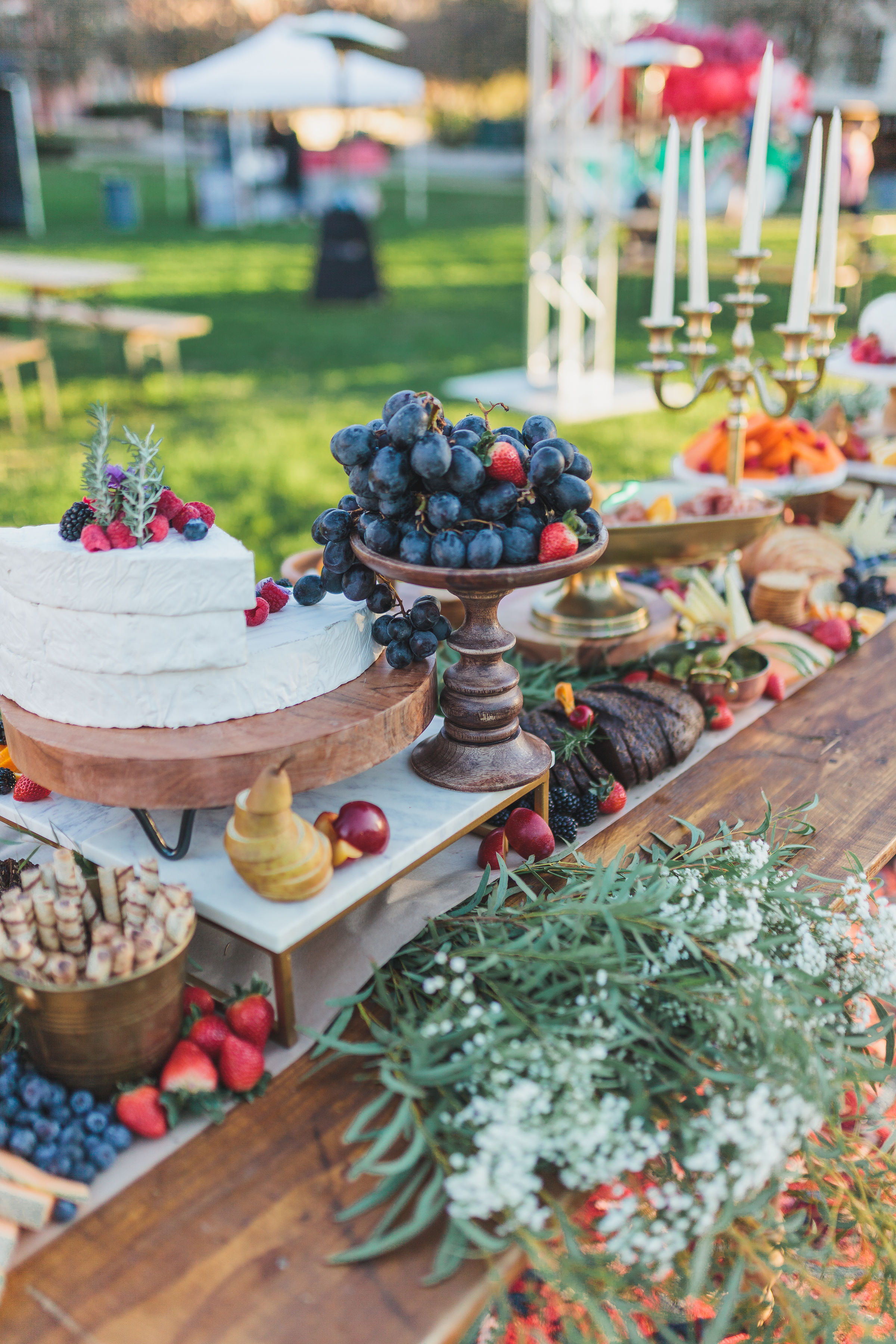 Styled Grazing Table
