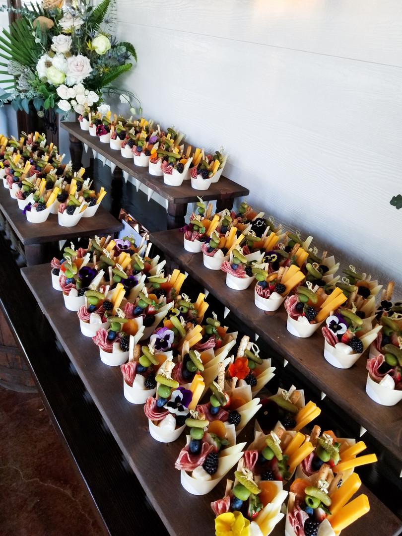Sweet grazing cones