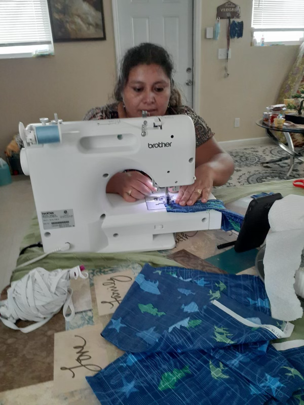 Sewing machine deliveries