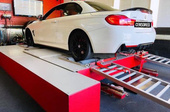 BMW 435D Dyno Tuning