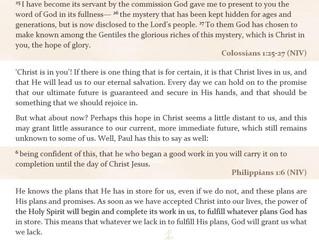 Winter Week of Prayer - day 4