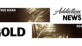 """""""Gold"""" El nuevo sencillo de Valentino Khan junto a Sean Paúl, con pocos días de haber salido, ya bri"""