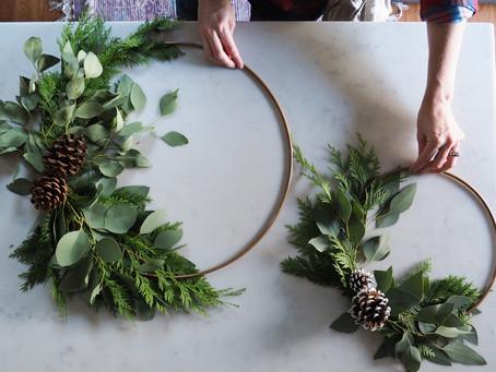 Simple Wreath DIY
