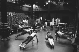 Bars Workshop rehearsal at The Public Theater.
