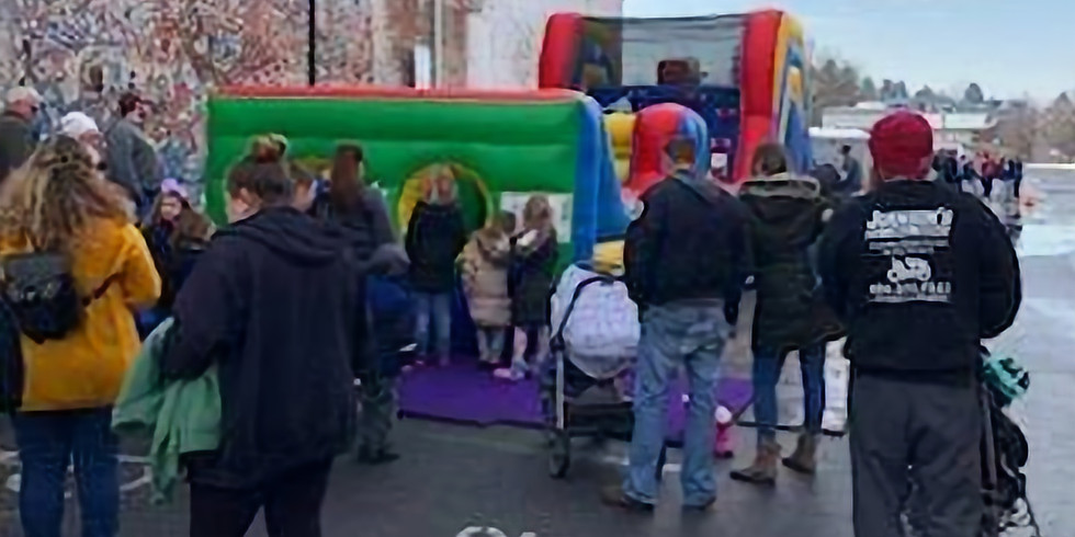 Kids' Zone-Obstacle Course and Scavenger Hunt