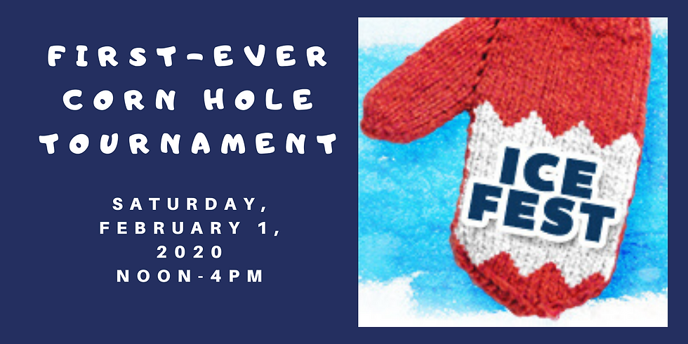 First-Ever IceFest Corn Hole Tournament