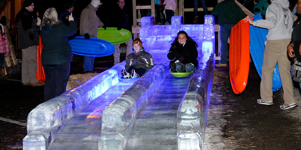 Double-Wide Ice Slide