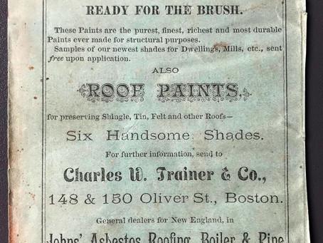 L'amiante autrement #9 : H.W. Johns Asbestos Liquid Paints