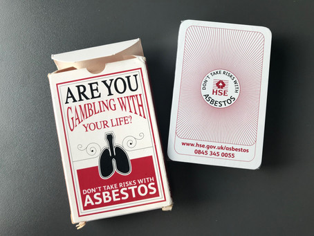 L'amiante autrement #5 : HSE Playing Cards