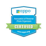 Personal Photo Organizer certification badge