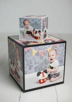 Custom Photo Cubes