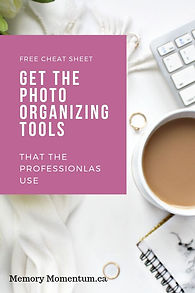 Photo Organizing Tools