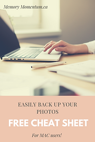 Easily Back up your photos for MAC users