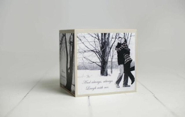 Custom Designed Photo Cubes