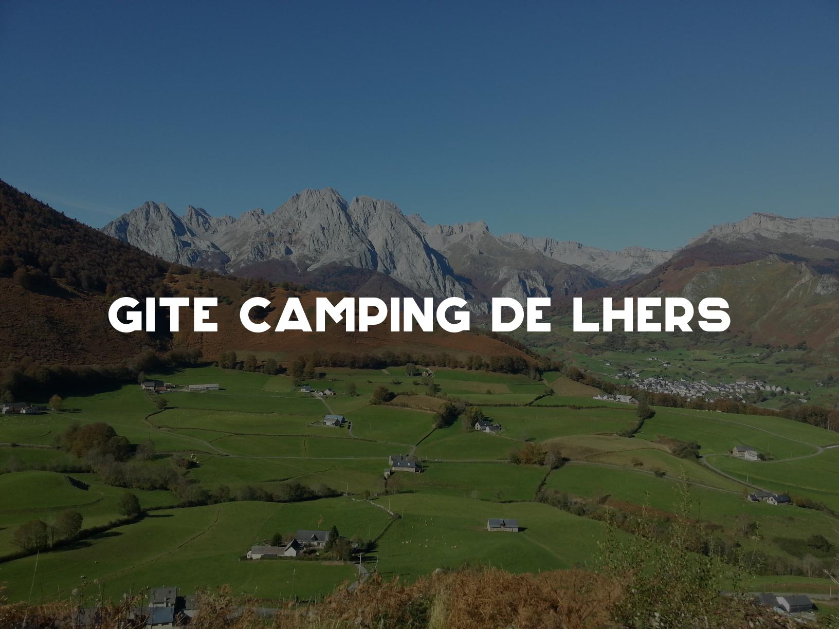 Gite Camping de Lhers