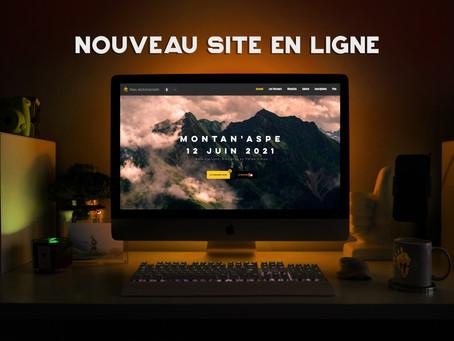 Nouveau site en ligne !