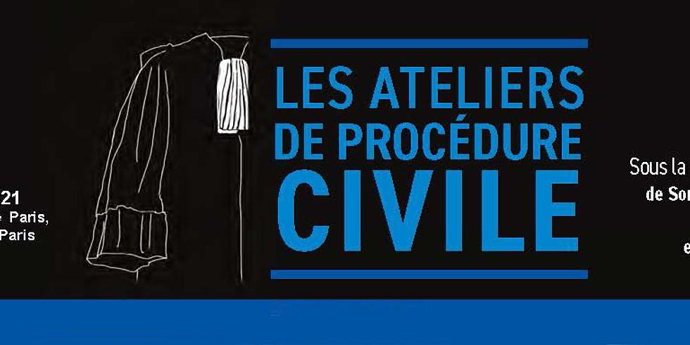 Ateliers de Procédure civile - 4e Edition