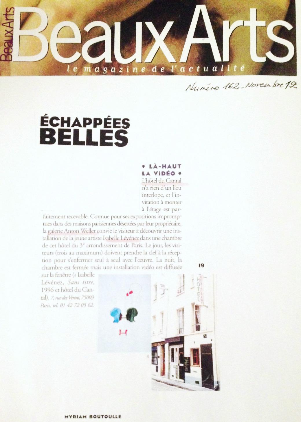 Beaux Arts Magazine 1999