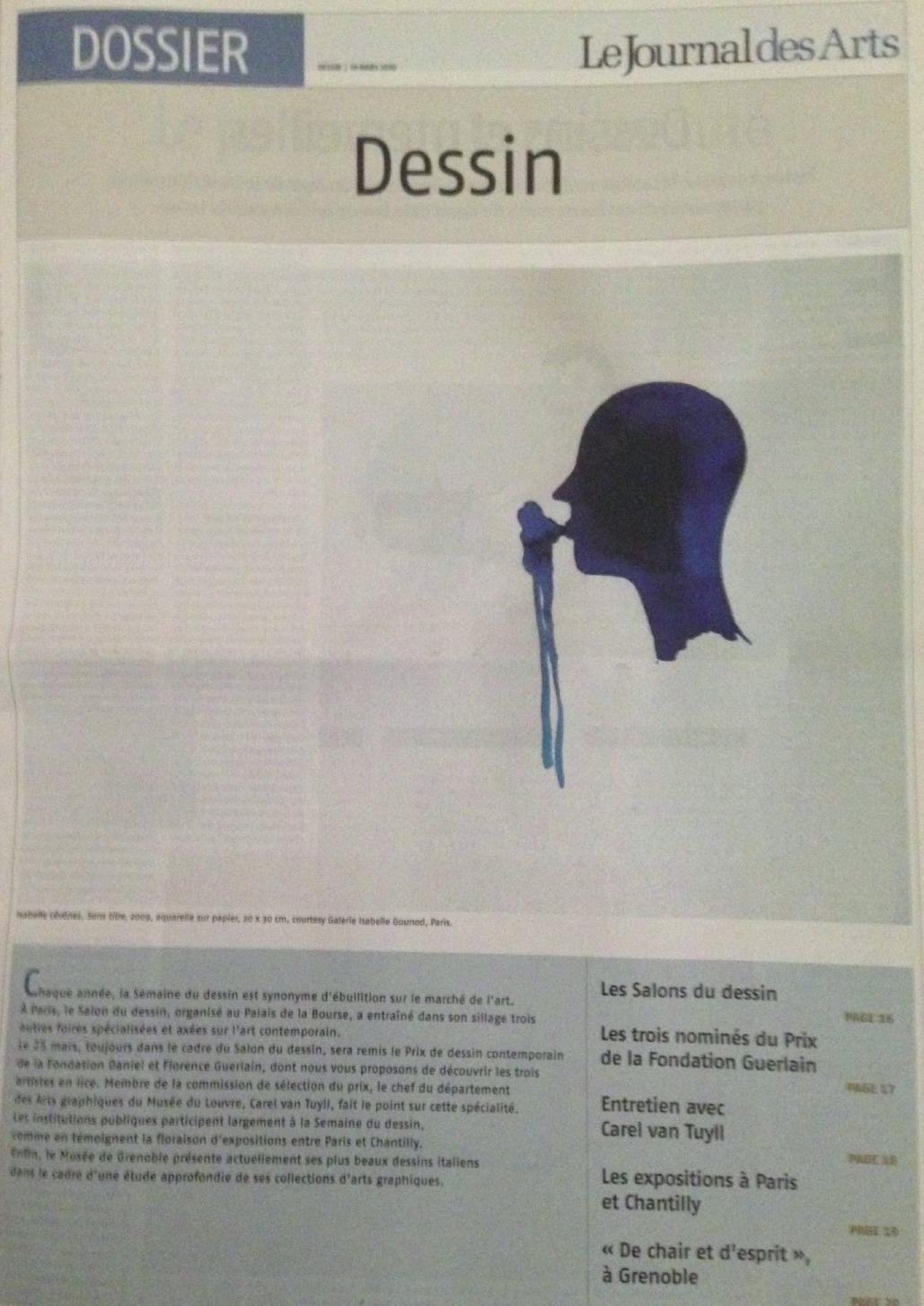 LE JOURNAL DES ARTS 2008