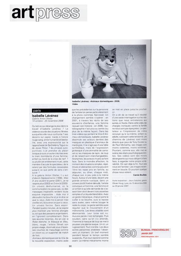 ART PRESS 2006