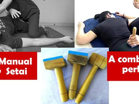 Seitai manual & New Seitai: a combinação perfeita para tratamento das dores e alinhamento Postural