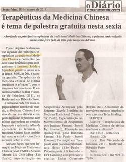 """Jornal """"O Diário"""" de Ribeirão"""