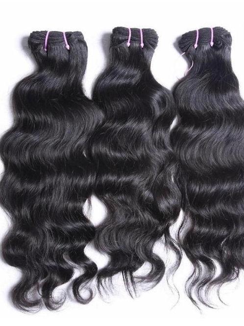 RAW INDONESIAN WAVY HAIR BUNDLE DEALS