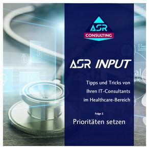 Prioritäten setzen - ASR INPUT