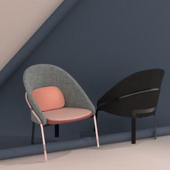 Fuse armchair