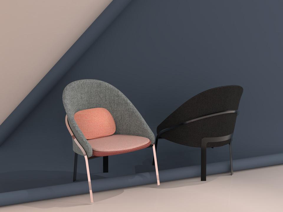 • Fuse armchair