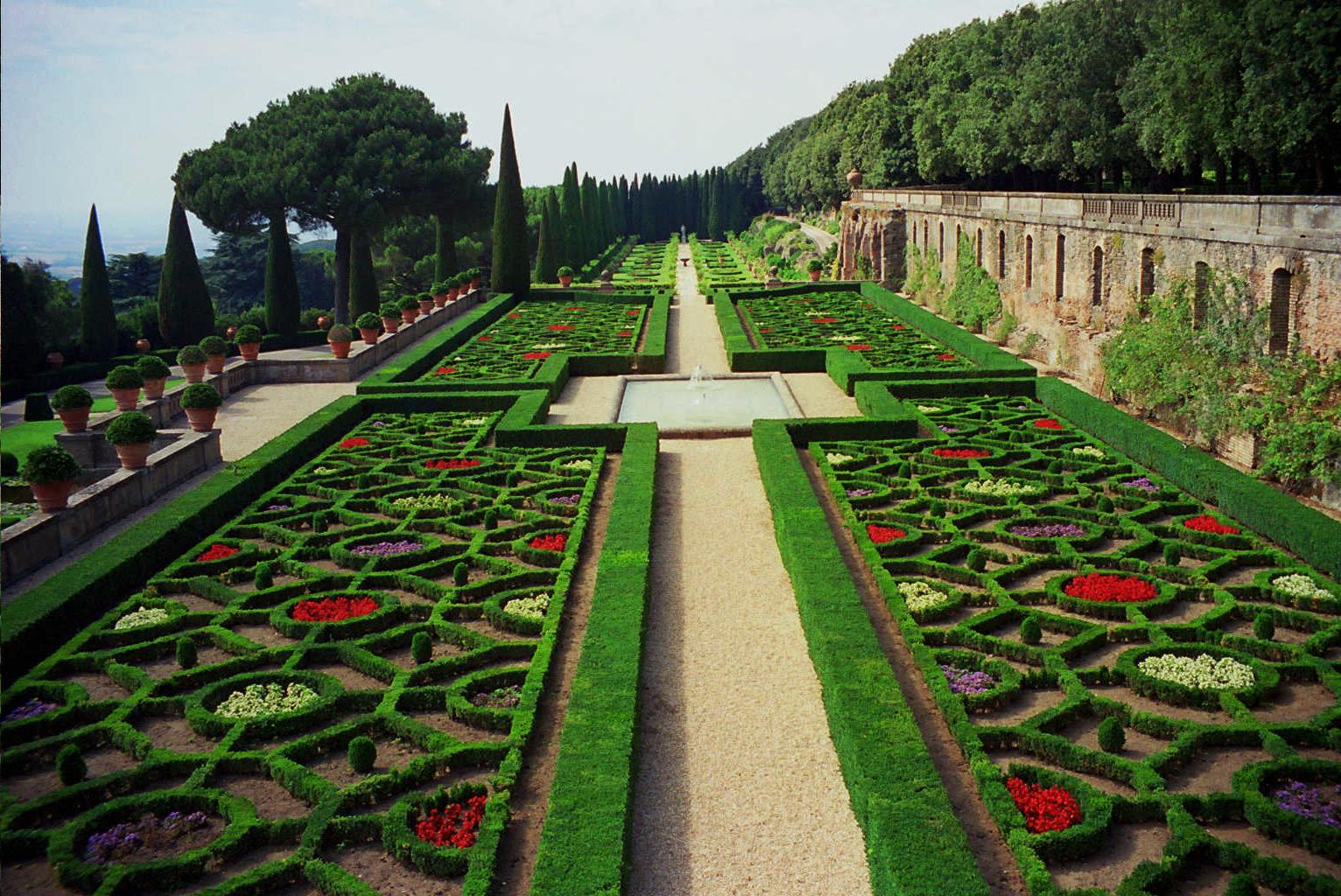 Pontifical gardens
