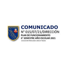 COMUNICADO N° 015
